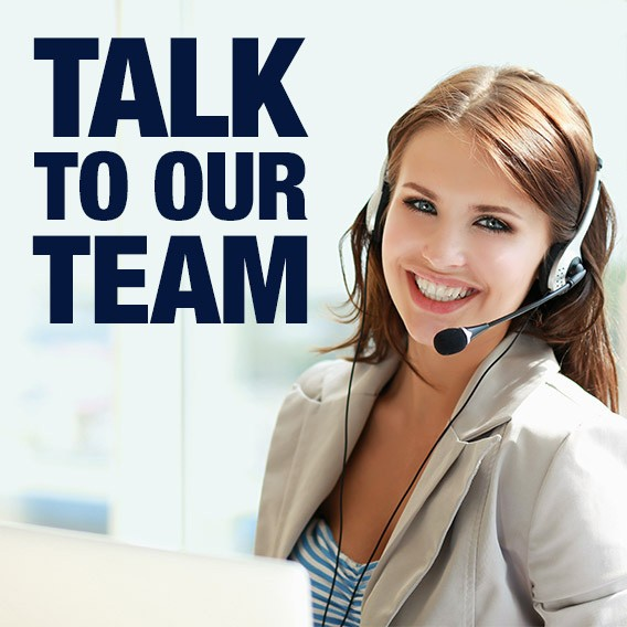 Talk to our team
