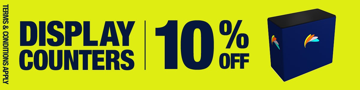 counters – 10% discount