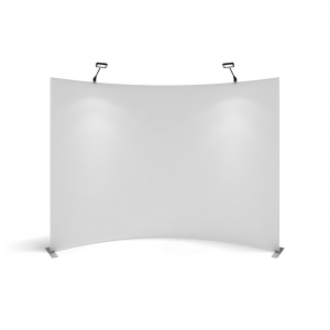 curved display walls