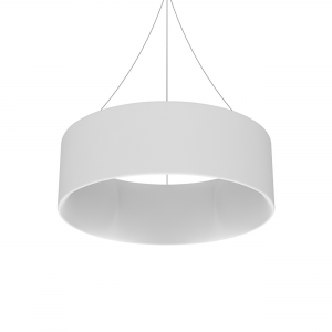 round overhead hanging display