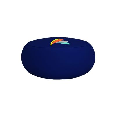 branded inflatable ottoman