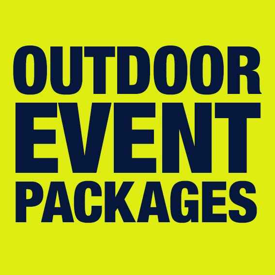 outdoor event packages